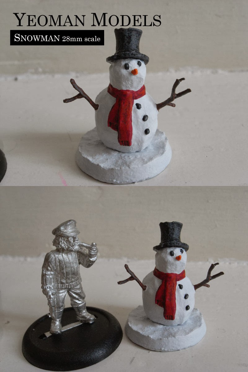 Snowman-Painted