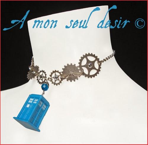 Bijoux Tardis Docteur Who 2