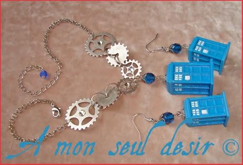 Bijoux Tardis Docteur Who 3