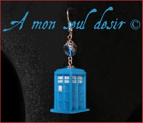 Bijoux Tardis Docteur Who 4