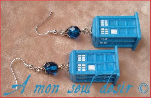 Bijoux Tardis Docteur Who 5